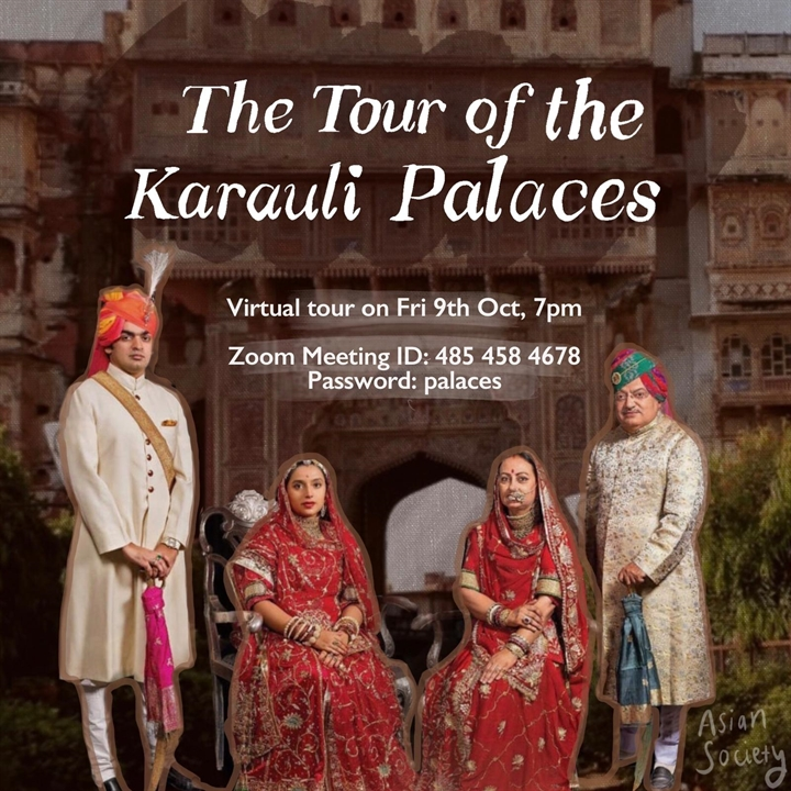 A Rajasthani Palace Tour by the Royal Family of Karauli