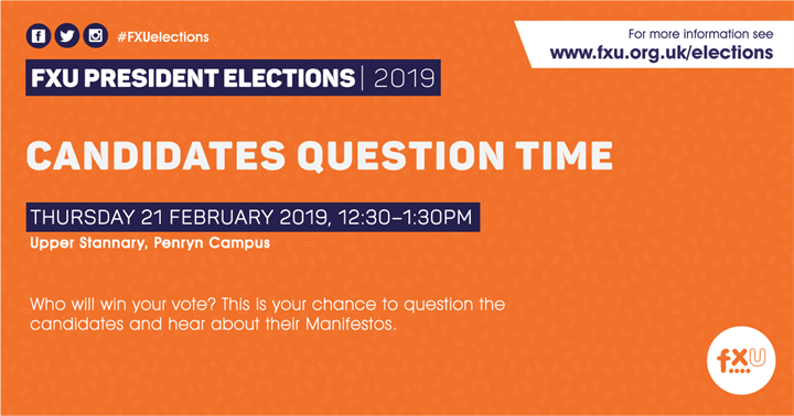 Candidates Question Time
