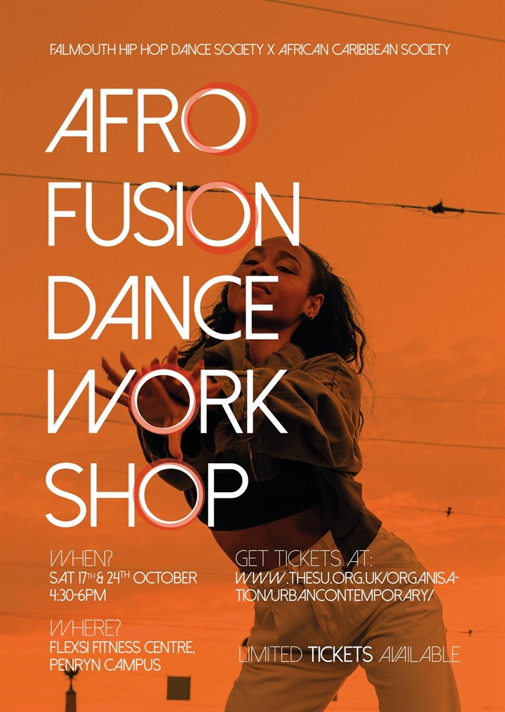 Hip Hop x African Caribbean Society Afrofusion Dance Workshop