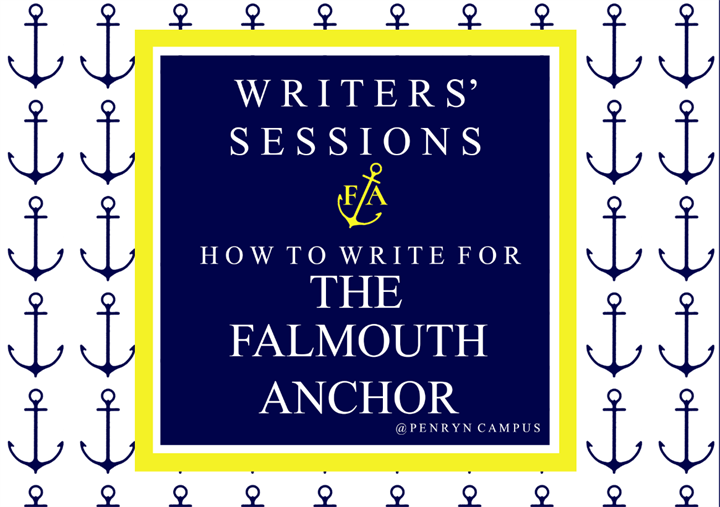Writers' Session: How to Write for The Falmouth Anchor