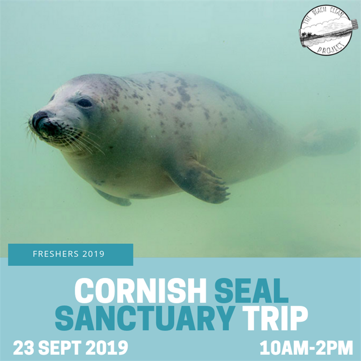 Seal Sanctuary Freshers Trip