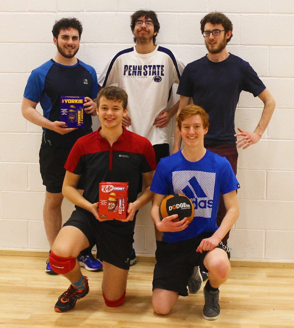 Chaos Defrost win dodgeball tournament