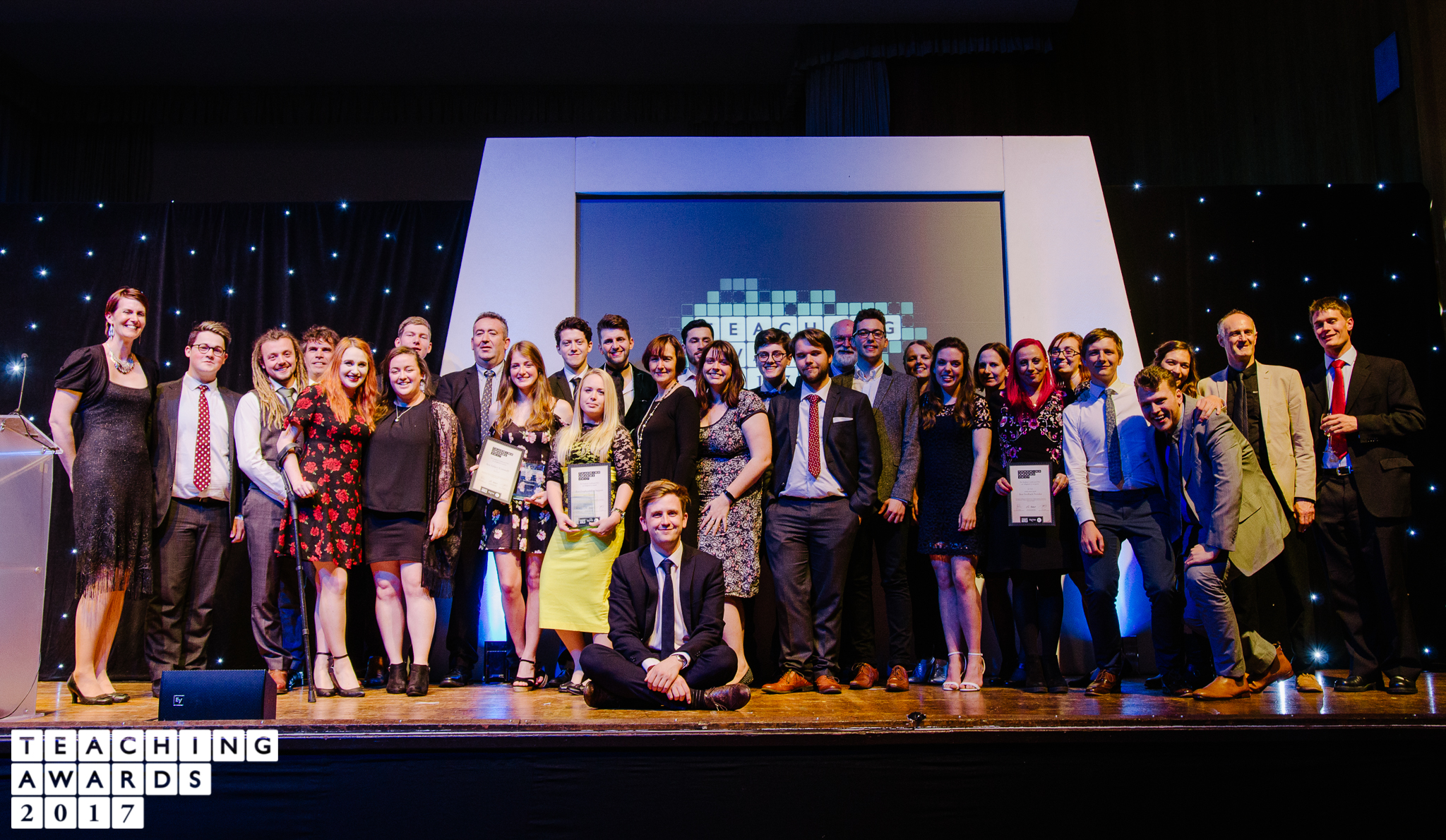 The University of Exeter Teaching Awards in partnership with FXU and the Students' Guild