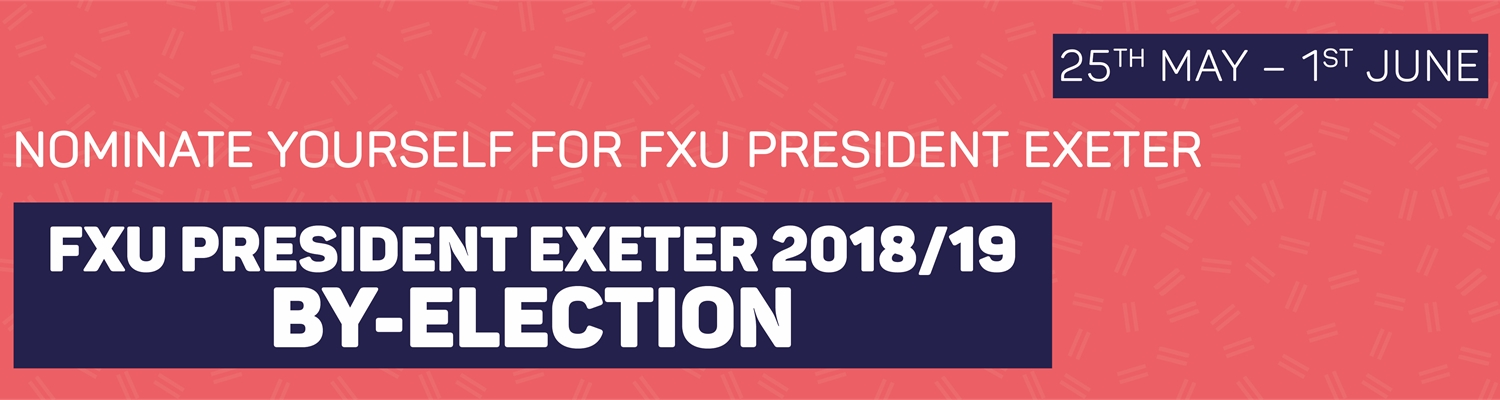 By-election FXU President Exeter