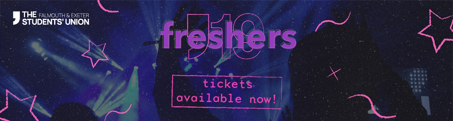 Freshers Tickets Available Now
