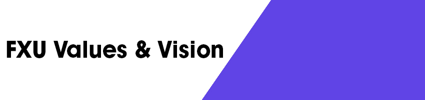 FXU Values & Vision