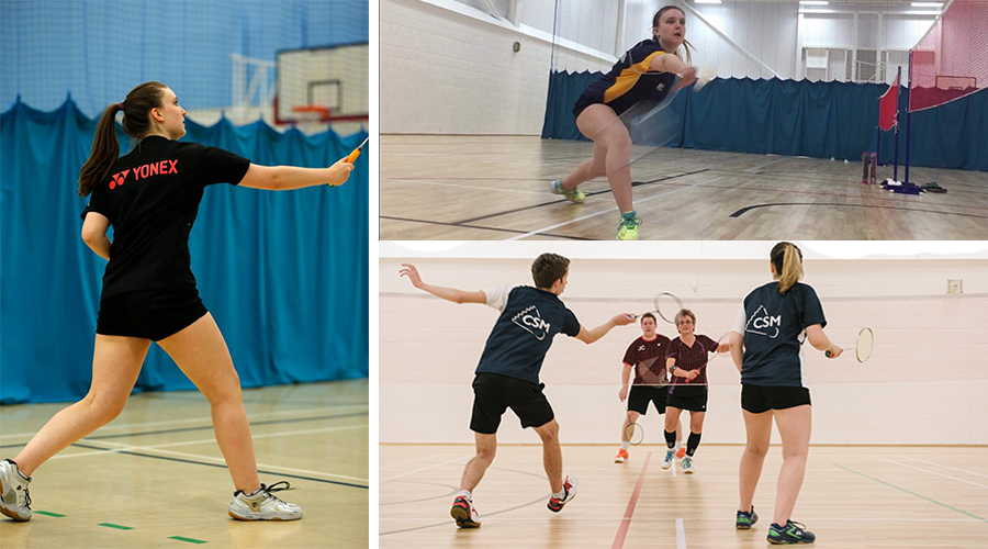 Amy Cox, Badminton