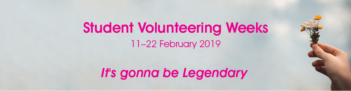 Student Volunteering Weeks