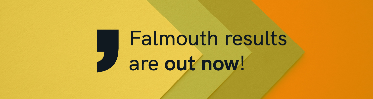 Falmouth results are out now!