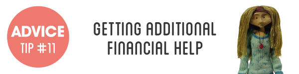 Advice Tip #11 Getting Additional Financial Help