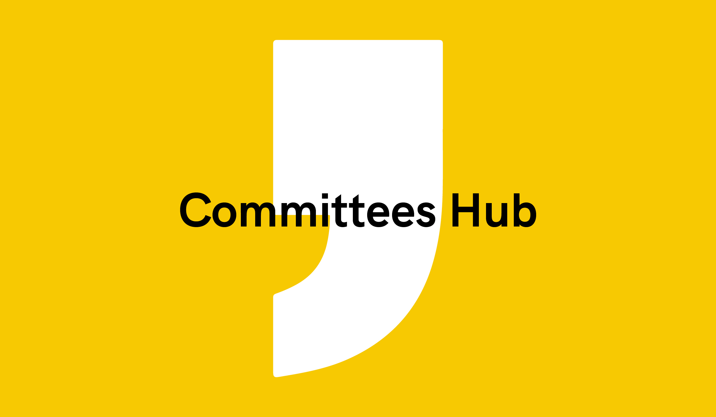Committees Hub
