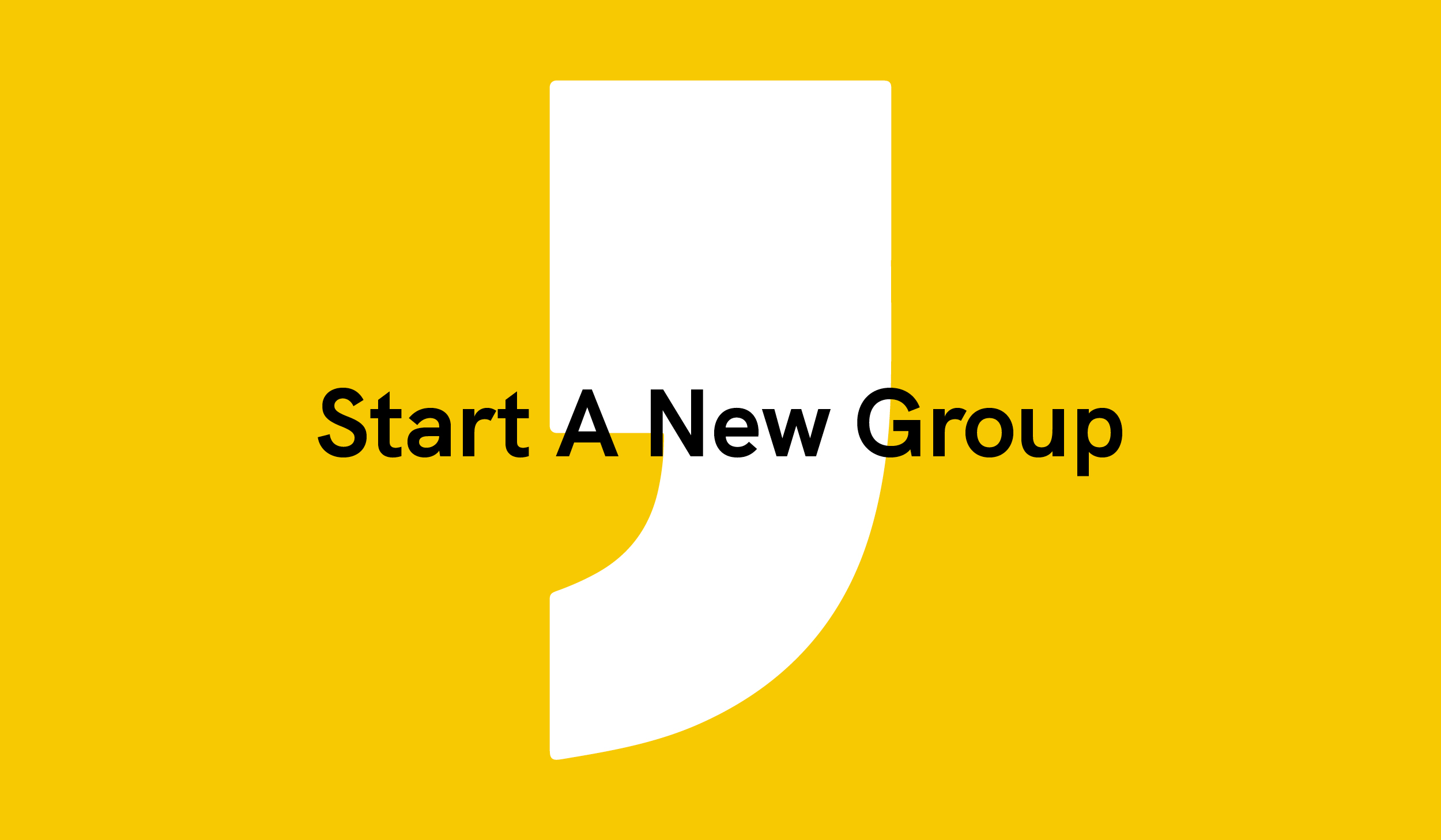 Start A New Group