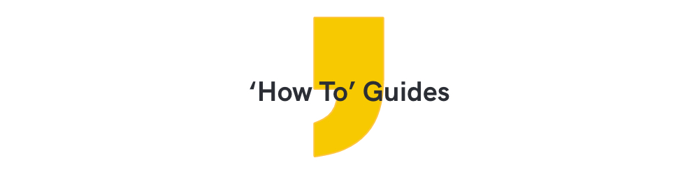 'how to' guide