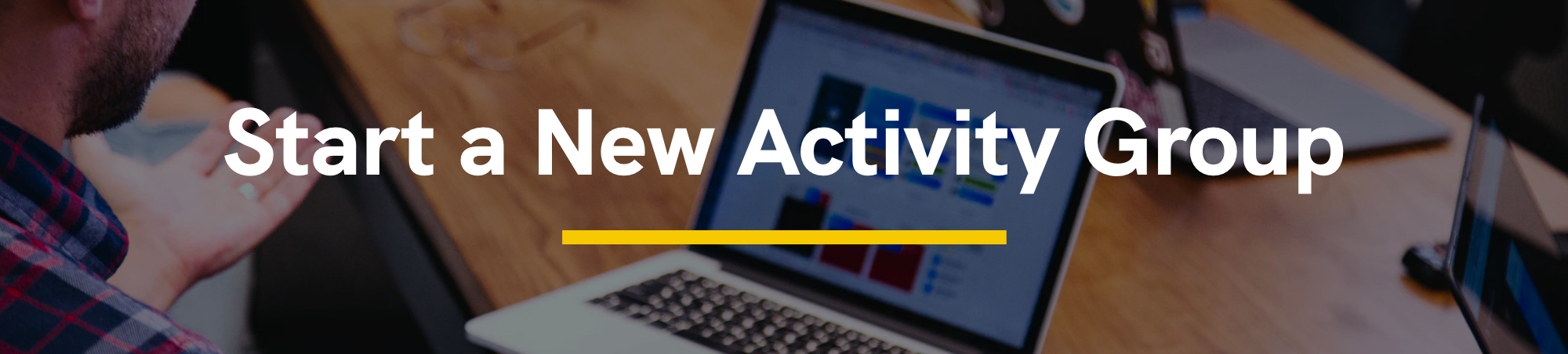 Start a New Activity Group
