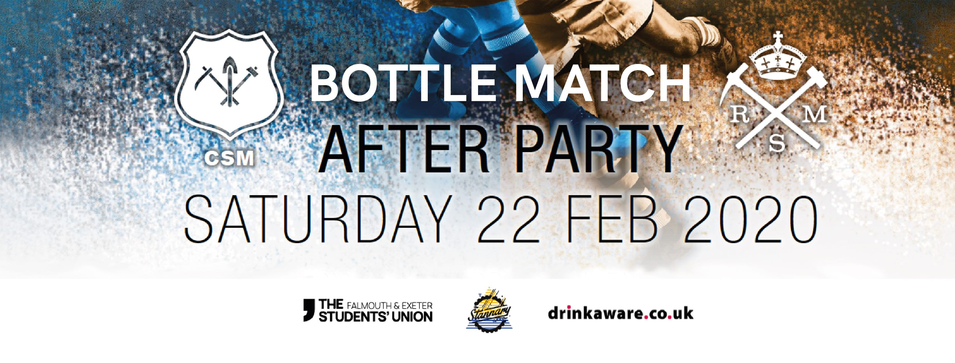 Bottle Match After Party. Saturday 22nd February 2020.