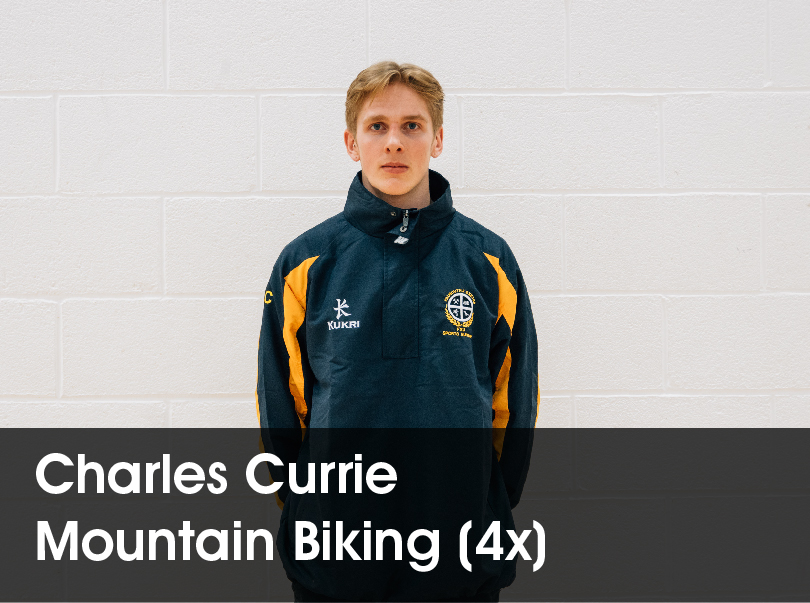 Charles Currie - Mountain Biking