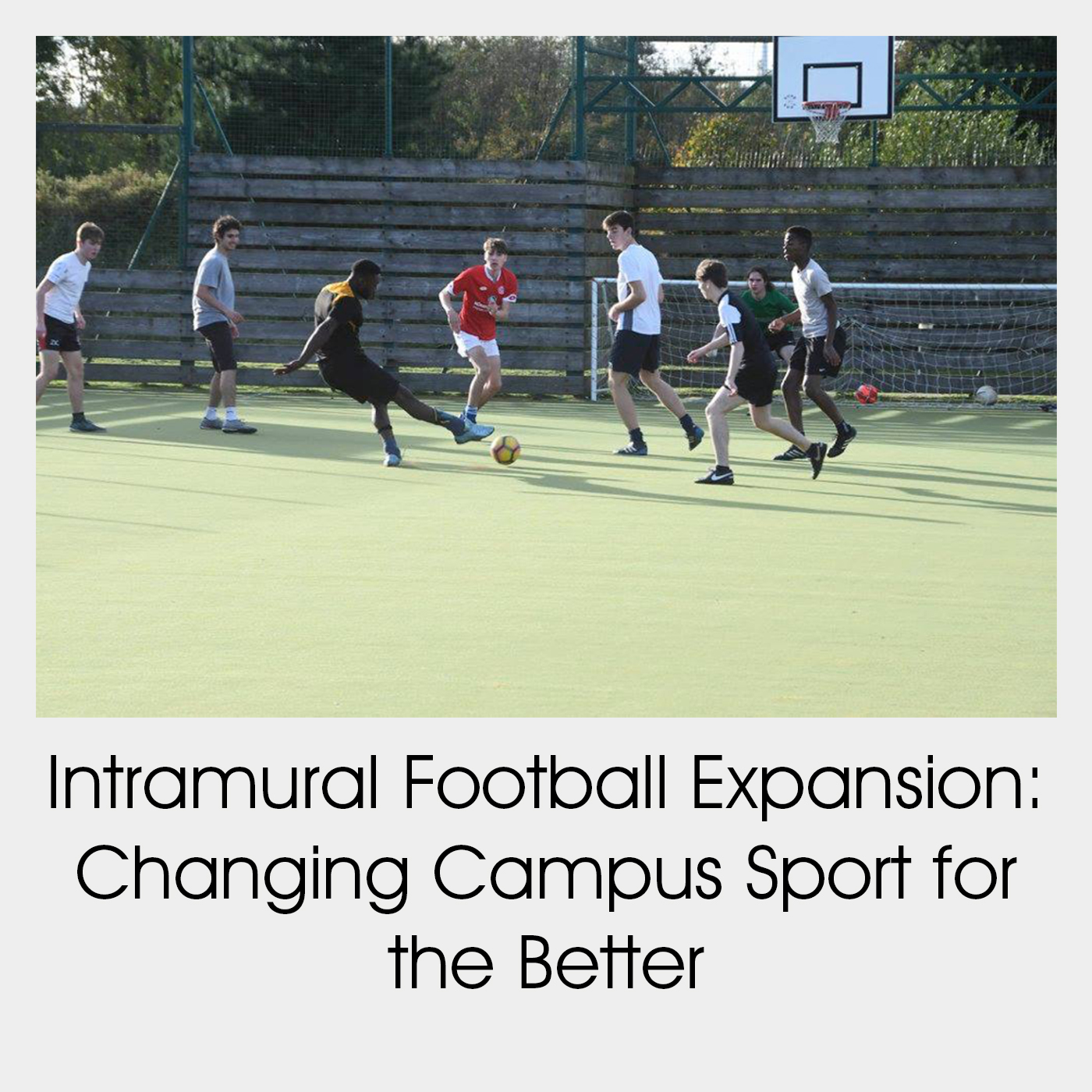 Intramural Football Expansion