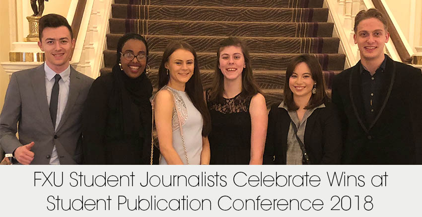 FXU Student Journalists Celebrate Wins at Student Publication Conference 2018