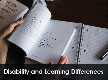 Disability and Learning Differences