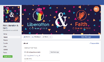 Liberation & Faith Committee Facebook