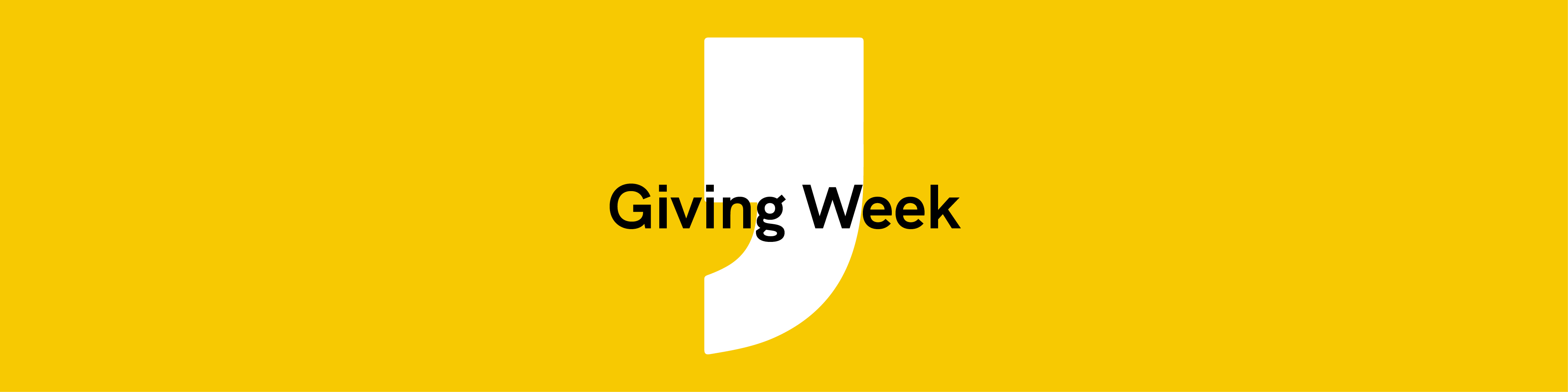 Giving Week
