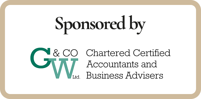 Sponsored by G & W Co Ltd. Chartered Certified Accountants and Business Advisers