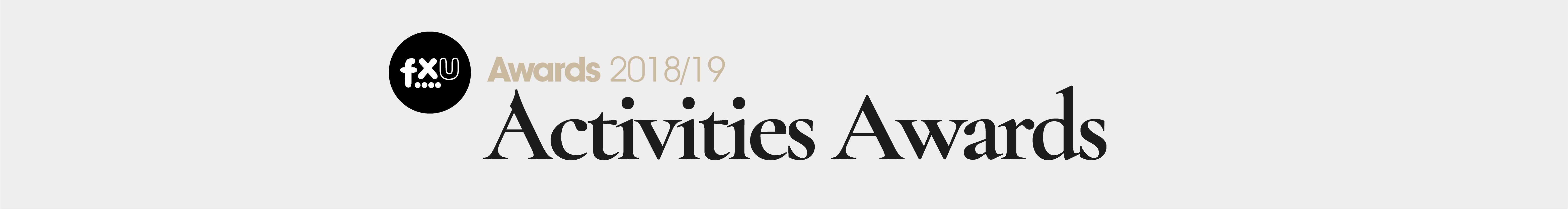 Activities Awards 2019