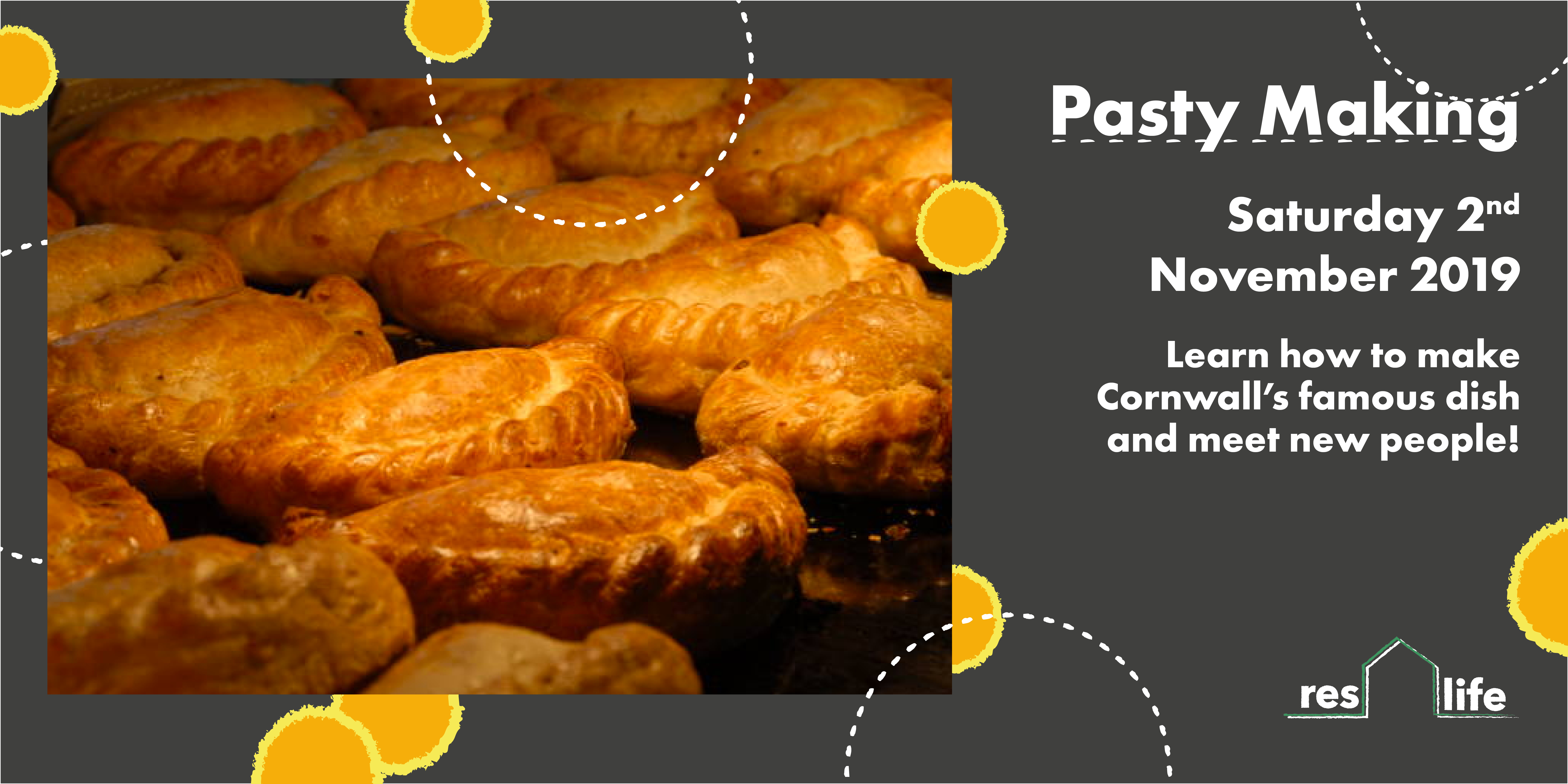 Pasty Making event
