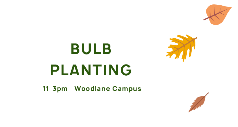 Bulb planting, 11-3, Falmouth Campus.